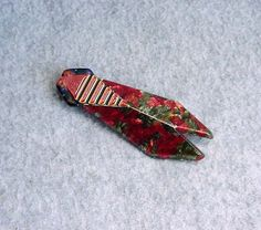 Lea Stein Cicada Pin Insect Brooch 3 1/2 by Kissisjustakiss
