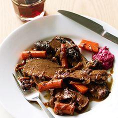 Red Wine and Onion-Braised Passover Brisket  sunsetmagazine.com