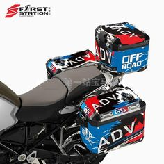 3 x Pannier Boxes Storm R1250 750 850 R1200GS ADV Protector Cover Stic – sooydoor Gs 1200 Adventure, Decal, Sticker, Baby Car Seats, Perfect Fit, Bmw, Cover, Dreams, Motorbikes