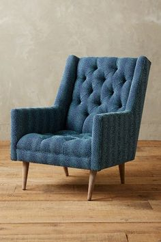 Linen Booker Armchair, Wilcox - anthropologie.com #anthrofave