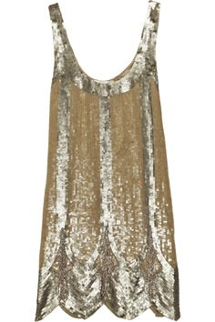 Sequined Deco Dress / Rachel Gilbert; This is so beautiful but doesn't really look like a 'wearing to the baseball park with my kids' kind of dress...sigh!