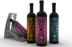 ♡ these wine bottles