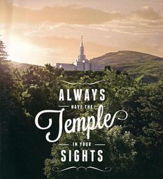 """I love to see the temple."" #LDSTemples"