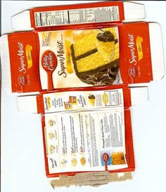 American Girl Craft Tutorials: Food Boxes