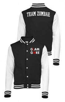 Team Zombae Varsity Jacket Outerwear - Glam and Gore Outerwear - Online Store on District Lines