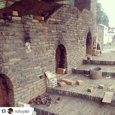 Repost @ruluyao with @repostapp. by woodfiredpotterykilns