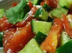 Cucumber and Tomato Salad