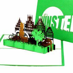 Münster ist bekannt als Fahrradstadt und hat doppelt soviele Fahrräder, wie Einwohner. (Quelle: Wikipedia) #münster #munster #fahrradstadt #leeze #fietse #popup #popupkarte #münsterland #munsterland #fahrrad #radfahren #radfahrenistschön #klappkarte #3dkarte #colognecards #fahradtour #ausflug #ausflugsziel #ausflugsziele_nrw #münsteraner #rad