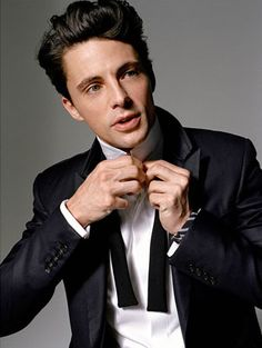 What can I say, I've always had a weakness for Brits. Matthew Goode certainly fits the bill.