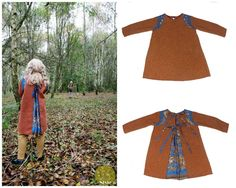 Eagle dress by Nixie Clothing for winter 2013 /14 kids fashion