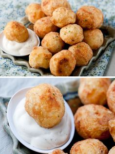 Deep Fried Whole Baby Potatoes - I don't deep fry anything - but this sounds yummy