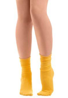 Sock About It in Tweet, #ModCloth