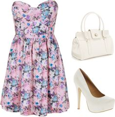 """""""spring"""" by inesferreirah ❤ liked on Polyvore"""