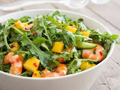 Enjoy this Mango and Prawn Salad Recipe from Australian Mangoes. Collect a range of Australian Mango recipes into your own online recipe book. Australian Christmas Food, Aussie Christmas, Australian Food, Australian Recipes, Summer Christmas, Xmas Food, Christmas Cooking, Mango Recipes, Salad Recipes
