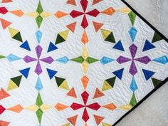 Tiny Triangles Quilt Kit