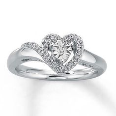 Promise ring! Super pretty but probably will never get one..