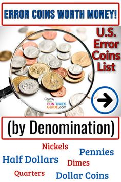 Valuable Pennies, Valuable Coins, Old Coins Price, Old Coins Value, Old Coins Worth Money, Coin Dealers, Coin Prices, Coin Art, Quarter Dollar