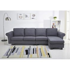 Tremendous Taylor Leather Sectional And Ottoman Espresso Abbyson Ncnpc Chair Design For Home Ncnpcorg