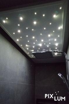 Mit dem LED Sternenhimmel Bausatz von PIXLUM könnt ihr kinderleicht euren eigenen, individuellen Sternenhimmel an Decke oder Wand, in jedem beliebigen Raum (Badezimmer, Schlafzimmer, Kinderzimmer, Heimkino, etc.) montieren. Eurer Kreativität sind dabei keine Grenzen gesetzt! Wie's funktioniert zeigen wir euch hier! Montage, Bathtub, Led, Bathroom, Bath Room, Nurseries, Bedroom, Home Theaters, Bathing