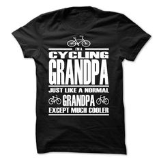 LIMITED EDITION - CYCLING GRANDPA -ah - Limited Time Offer! Not Sold In Store. If you dont absolutely love our design, just SEARCH your favorite one by using search bar on the header (Dad - Father's Day Tshirts)
