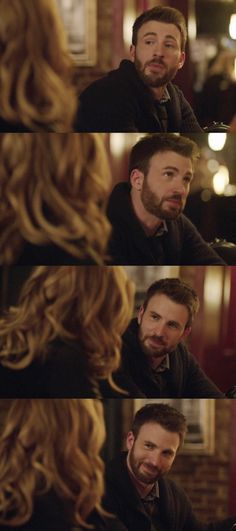 Chris Evans and Alice Eve in Before We Go.