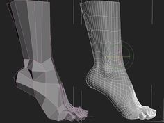 Topology feet, foot Форум .:3DCenter.ru:. [Форум Invision Power Board] Animation Reference, Body Reference, Anatomy Reference, 3ds Max Tutorials, Sculpting Tutorials, Anatomy Models, Anatomy For Artists, 3d Model Character, Character Modeling