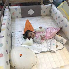 นอนสบายเลยค่า Creambed Grand 💖💕#creamhaus #creambed #ที่นอนเด็ก #playmat @creamhaus_th