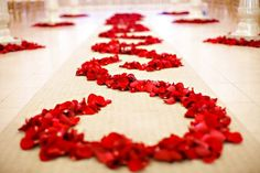 Rose Petal Decoration Www Petalgarden