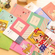 Cancelleria coreana Totoro Mini Taccuino Del Fumetto Piccolo libro Carino Materiale Scolastico Regalo Student Memo Diario Planner