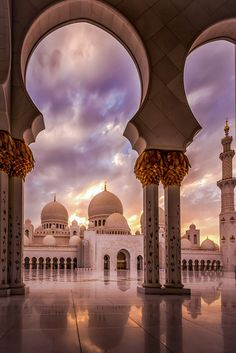 Architecture Discover Sunset at the Mosque by julian john / Beautiful Mosques Beautiful Places Mosque Architecture Architecture Courtyard Ancient Architecture Islamic Wallpaper Grand Mosque Amazing Buildings City Buildings Islamic Wallpaper Iphone, Mecca Wallpaper, Quran Wallpaper, World Wallpaper, Galaxy Wallpaper, Architecture Courtyard, Mosque Architecture, Architecture Sketches, Ancient Architecture