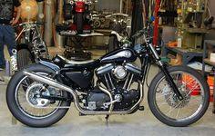 Custom Sportster, Custom Harleys, Custom Motorcycles, Harley Bobber, Iron 883, Motorcycle Bike, Modified Cars, Motorbikes, Harley Davidson
