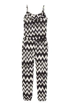 Tricot jumpsuit | H&M