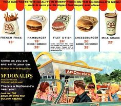 Patrick Owsley Cartoon Art and More!: McDONALD'S IS YOUR KIND OF PLACE!