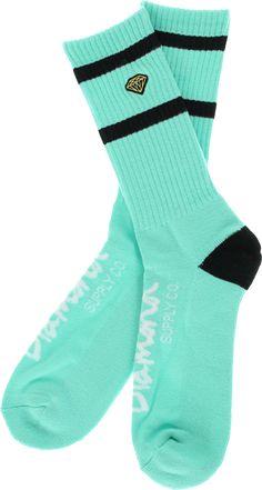 Diamond Supply Co Diamond Stripe High Socks