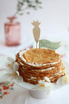 Möhrenpfannkuchen//Carrot Pancakes