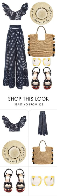 """Johanna Ortiz"" by thestyleartisan ❤ liked on Polyvore featuring Johanna Ortiz, Betsey Johnson, John Lewis, Gucci, Dolce&Gabbana and embellishedshoes"