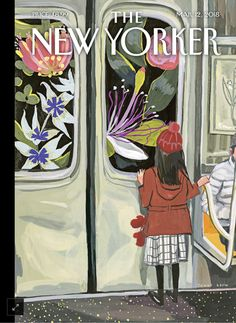 "Im on the subway all the time,"" the artist Jenny Kroik says, about her inspiration for this week's cover. ""It's a great place to let your imagination loose and get ideas. You're surrounded by so many people and stories.""  ""I saw a young girl glued to the window, fascinated by the tunnel,"""