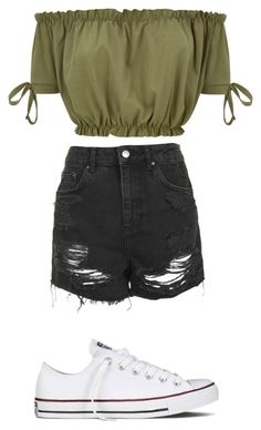 """Untitled #39"" by fashiongirl923 on Polyvore featuring Topshop and Converse"