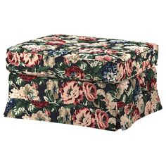 IKEA EKTORP Footstool Lingbo multicolour You can put things like magazines and toys in the storage space under the seat. Living Furniture, Upholstered Furniture, Brown Furniture, Living Room Storage, Storage Spaces, Ikea Ektorp, Ektorp Sofa, Ikea Stockholm, Ikea Home