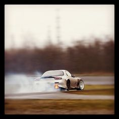Testing the Mazda rx7 @ttcicuit assen