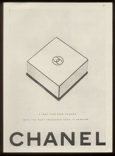 The logotype of the House of Chanel is represented by 2 interlocking C's for Coco Chanel's initials.