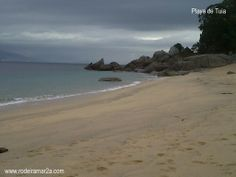 Playa de Tuia (Playa de Tulla). Bueu.