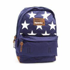 Superdry - Star Montana Backpack - Navy: Amazon.co.uk: Clothing
