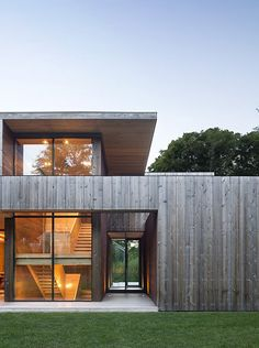 """archatlas: """" Elizabeth II Bates Masi + Architects LCC """"Too often, architecture fixates on the visual sense, with little regard for other faculties of perception. The location of this house, in the..."""