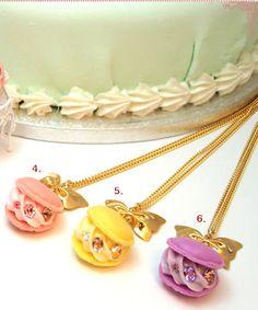 Q-Pot macaron necklaces