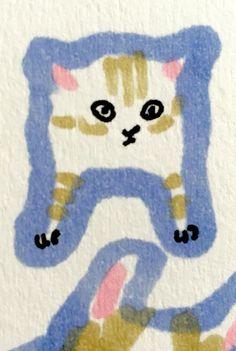 Kitten by Marie Åhfeldt, Mås Illustra. www.masillustra.se #kitten #cat #illustration #drawing #masillustra