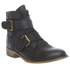 $103.98 Steve Madden Teritory Leather Booties