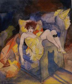 Jeanne Mammen, Aschermittwoch  Ash Wednesday (ca. 1926)