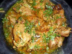 The best turkey stir-fry recipe in Lyon! Stir Fry Recipes, Grilling Recipes, Healthy Recipes, Crab Deviled Eggs Recipe, Recipes Using Hamburger, Curry, Turkey Stir Fry, Recetas Puertorriqueñas, Chicken