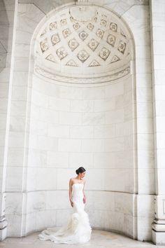Gotham Hall Wedding, Shira Weinberger Photography, Table Decor, Lighting, Floral, Luxury, Wedding Design, Wedding Inspiration, Wedding Ideas, Details, New York City Venue, Creative Portraits, White Florals, Candles